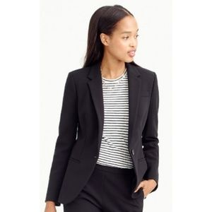 NEW J. CREW Petite Single Button Tailored Blazer